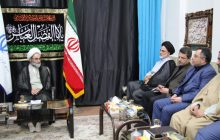دیدار هیئت رئیسه دانشگاه های استان گیلان با آیت الله فلاحتی + تصاویر