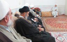 جلسه مجمع نمایندگان طلاب و فضلای استان گیلان در قم با حضور آیت الله فلاحتی/ تصاویر