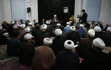 گزارش تصویری درس خارج فقه و اصول آیت الله فلاحتی در مصلی رشت