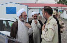 حضور آیت الله فلاحتی در جمع فرماندهان و کارکنان مرزبانی استان گیلان + تصاویر