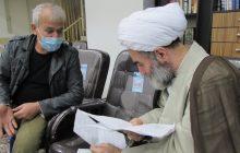 ملاقات 5 ساعته و چهره به چهره 60 نفر از مردم سراسر استان با آیتالله فلاحتی + گزارش تصویری