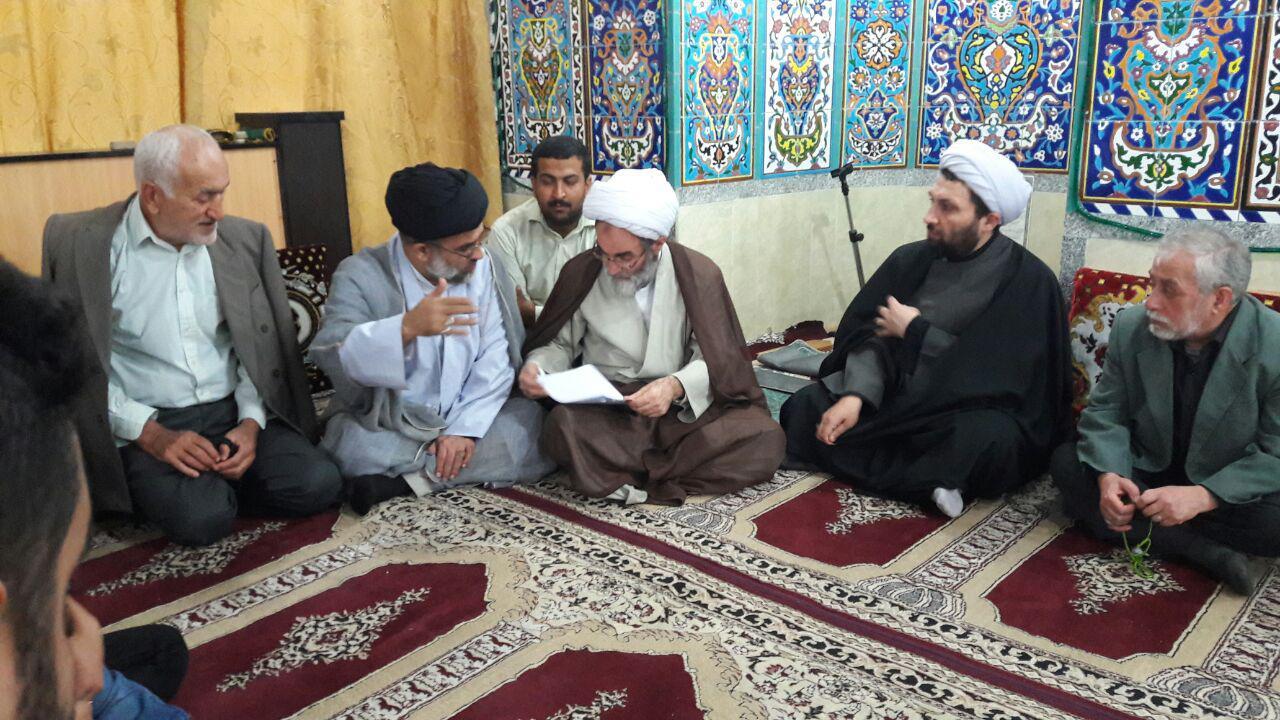 حضور سرزده آیتالله فلاحتی در مسجد صاحب الزمان(عج) پاسکیاب رشت+ تصاویر