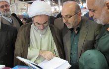 بازدید آیت الله فلاحتی از چهاردهمین نمایشگاه کتاب گیلان + گزارش تصویری