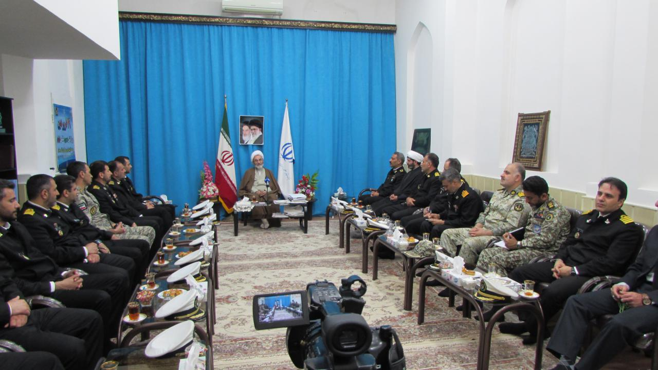 نیروی دریایی ارتش دیده بان جمهوری اسلامی ایران در عرصه دریاهاست/ لزوم جلوگیری از آسیب های زیست محیطی دریای خزر توسط نیروی دریایی ارتش/ خزر دریای صلح و آرامش است