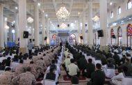 حضور آیت الله فلاحتی در محفل بزرگ انس با قرآن نیروهای مسلح گیلان+ تصاویر