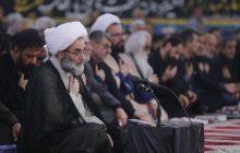 مراسم احیای شب بیست و یکم ماه رمضان با حضور آیت الله فلاحتی در مصلی رشت+ گزارش تصویری