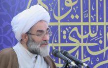 آمریکا غلط می کند علیه ملت ایران دست به اسلحه ببرد/ بیش از آنکه ملت ایران از تحریم ها در رنج باشند، آمریکایی ها دارند خفه میشوند/ تمام قدرت ها در مقابل قدرت خدا فناپذیرند