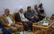 دیدار آیت الله فلاحتی با خانوادههای شهیدان