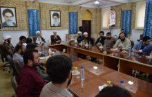 نشست تخصصی 3 ساعته جوانان هیئتهای مذهبی شهر رشت با نماینده ولی فقیه درگیلان+ گزارش تصویری