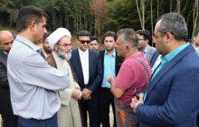 بازدید نماینده ولی فقیه در گیلان از محل دفن پسماند سراوان رشت+ گزارش تصویری