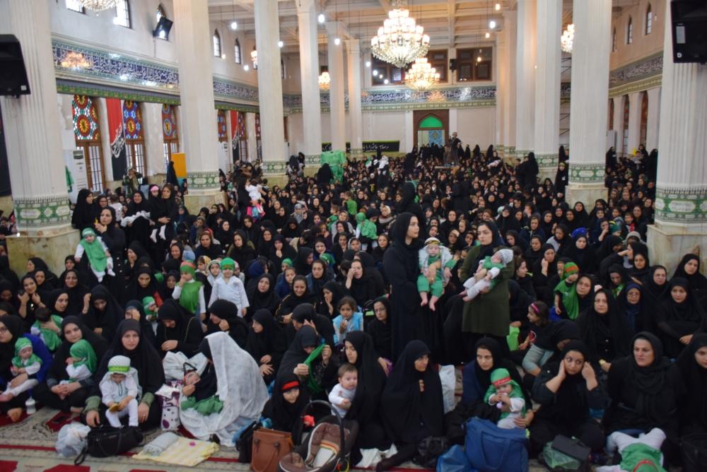 همایش شیرخوارگان حسینی(ع) با حضور نماینده ولی فقیه در گیلان+ تصاویر