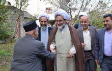 دیدار نماینده ولی فقیه در گیلان با دو خانواده شهید اهل تسنن و یک خانواده دو شهید اهل تشیع در اسالم تالش+ تصاویر