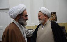دیدار رئیس دفتر عقیدتی سیاسی نیروهای مسلح با نماینده ولی فقیه در گیلان+ تصاویر