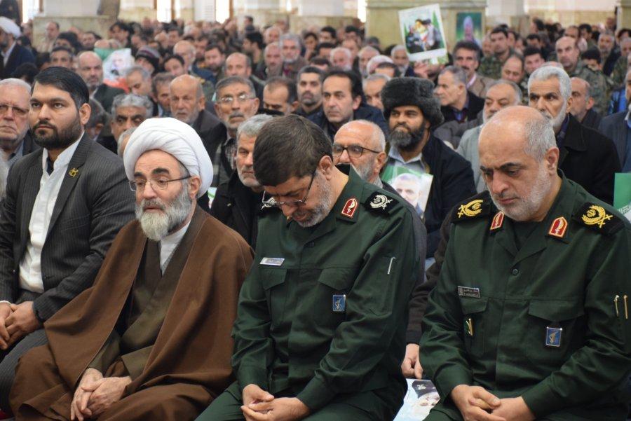 حضور آیت الله فلاحتی در مراسم چهلمین روز شهادت حاج قاسم سلیمانی+ گزارش تصویری