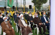 حضور آیت الله فلاحتی در آیین نکوداشت شهدای منا استان در لنگرود + تصاویر