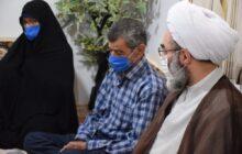 دیدار نماینده ولی فقیه در گیلان با 2 خانواده معظم شهید و جانباز 85 درصد ناجا + تصاویر