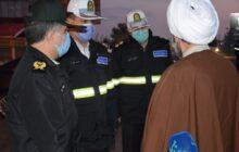 بازدید میدانی نماینده ولی فقیه در گیلان از پلیس راه استان + تصاویر