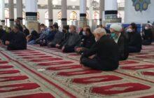 مراسم سوم عزاداری سیدالشهدا با حضور نماینده ولی فقیه در گیلان در مصلای رشت برگزار شد