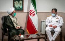 نیروی دریایی راهبردی ارتش ایران مایه امید جبهه مقاومت است/ جوانان را در عرصه دریا مدیر تربیت کنید/ آمریکایی ها با ذلت منطقه را ترک کردند