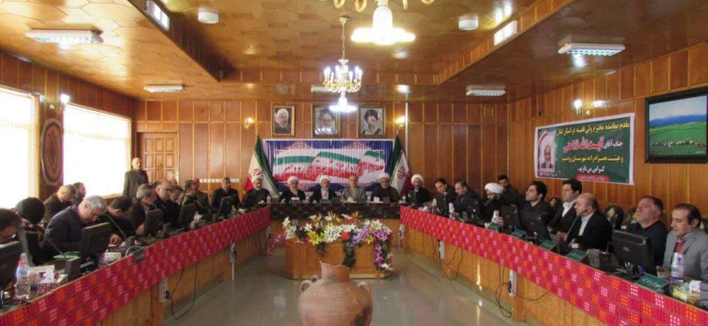 جلسه شورای اداری شهرستان رودسر با حضور نماینده مقام معظم رهبری در گیلان+ تصاویر