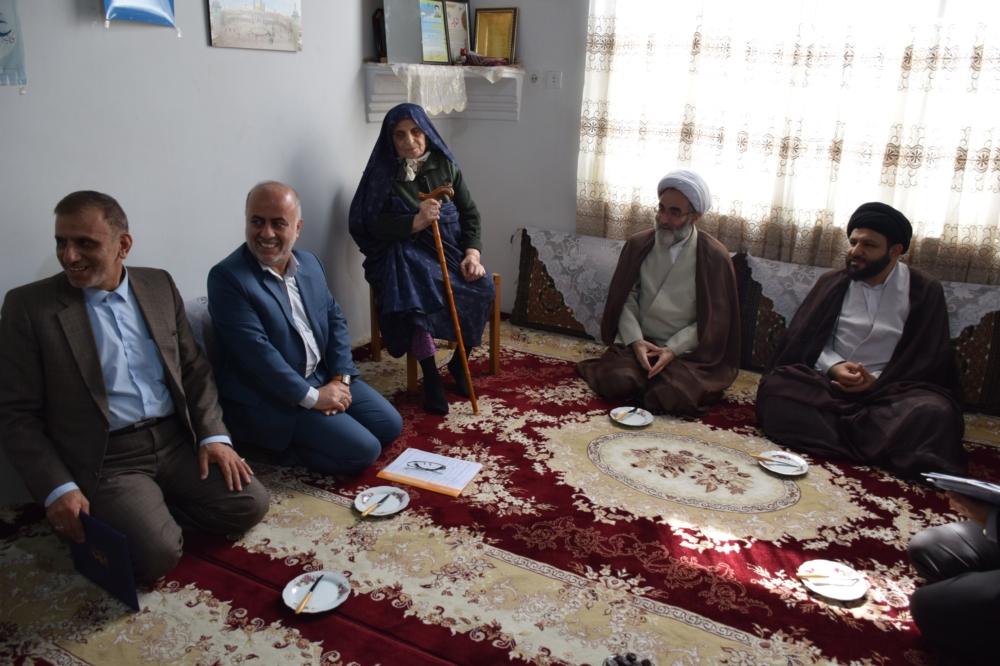 دیدار آیت الله فلاحتی با خانواده های معظم شهدای منا، دفاع مقدس و مدافع حرم در شهرستان لنگرود+ تصاویر