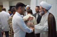 دیدار عیدانه قشرهای مختلف مردم و مسئولان گیلان با آیت الله فلاحتی+ تصاویر