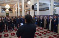 مراسم دومین روز از شهادت حضرت اباعبدالله الحسین(ع) در مصلی رشت+ تصاویر