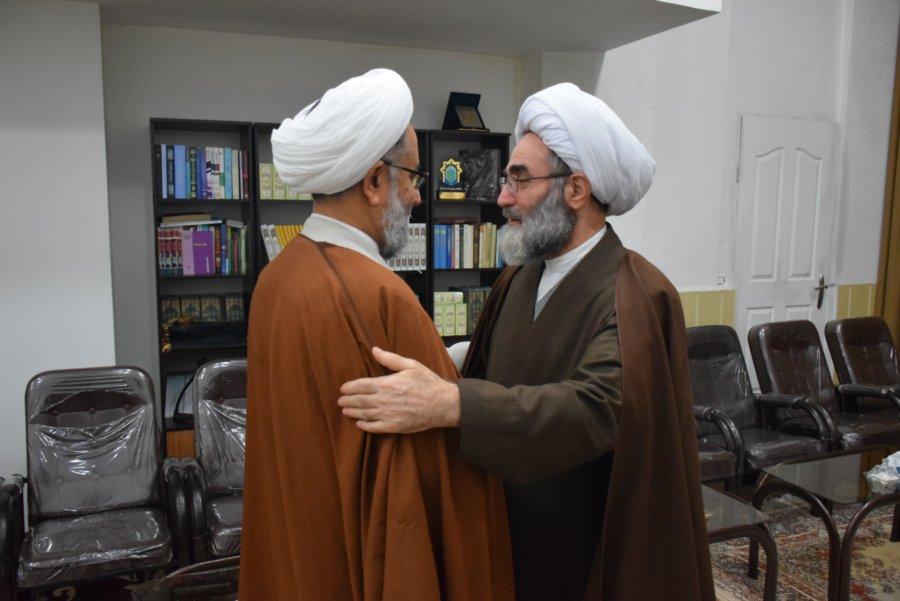 دیدار وزیر سابق اطلاعات با نماینده ولی فقیه در گیلان + تصاویر