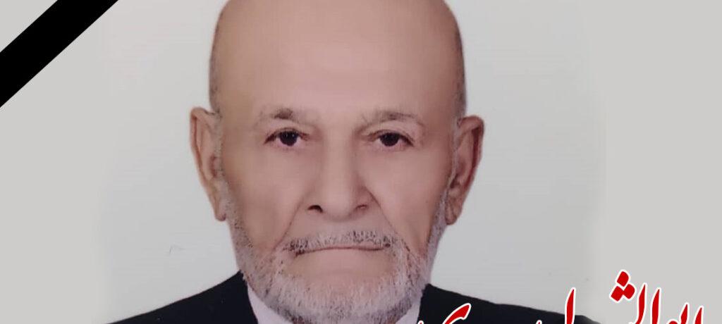 پیام تسلیت نماینده ولی فقیه در گیلان درپی رحلت پدر بزرگوار شهیدان « ابراهیم و رضا سعدی»