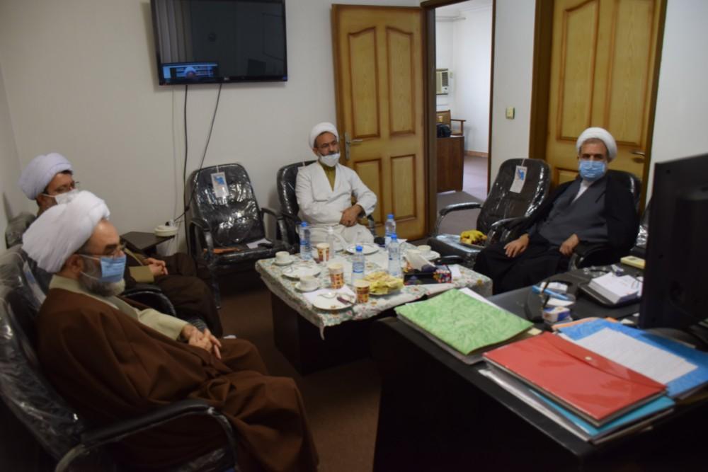 جلسه ویدئوکنفرانس رئیس شورای سیاستگذاری ائمه جمعه کشور با حضور آیت الله فلاحتی برگزار شد
